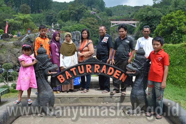 Lokawisata Baturaden Berlakukan Tiket Terusan Pemerintah Kabupaten Banyumas Baturraden Kab
