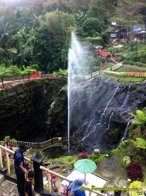 Lokawisata Baturraden Purwokerto Guidance Air Mancur Kab Banyumas