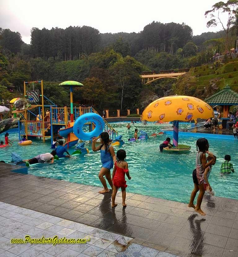 Lokawisata Baturraden Purwokerto Guidance Kolam Renang Air Terjun Kab Banyumas