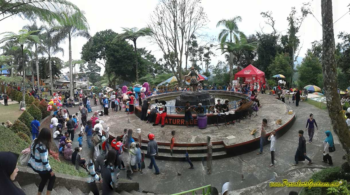 Lokawisata Baturraden Purwokerto Guidance Seluncur Air Sepeda Kab Banyumas