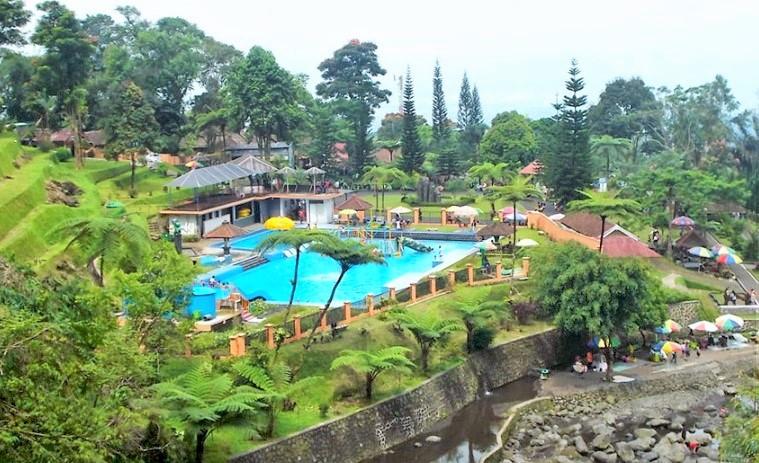Telaga Sunyi Teater Alam Taman Kaloka Baturaden Banyumas Lokawisata Baturraden