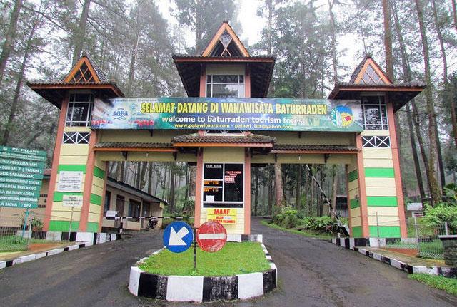 7 Objek Wisata Menarik Kawasan Baturaden Banyumas Alam Wana Mandala