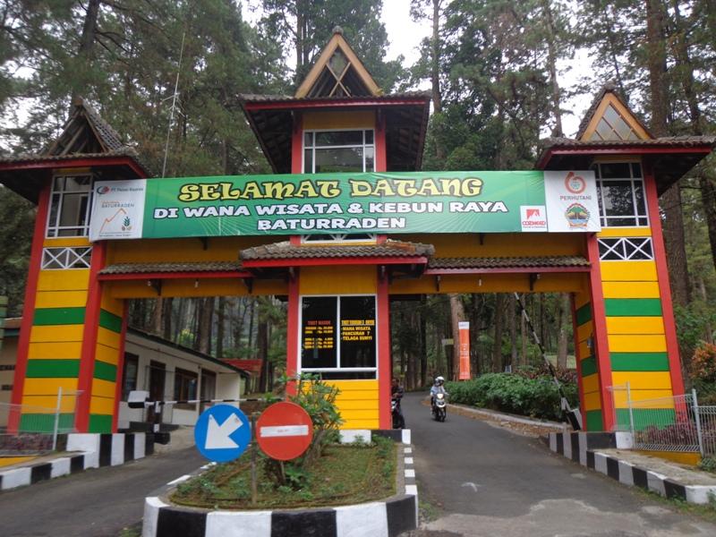 Baturaden Tempat Wisata Khas Purwokerto Tidak Lewatkan Mandala Baturraden Kab