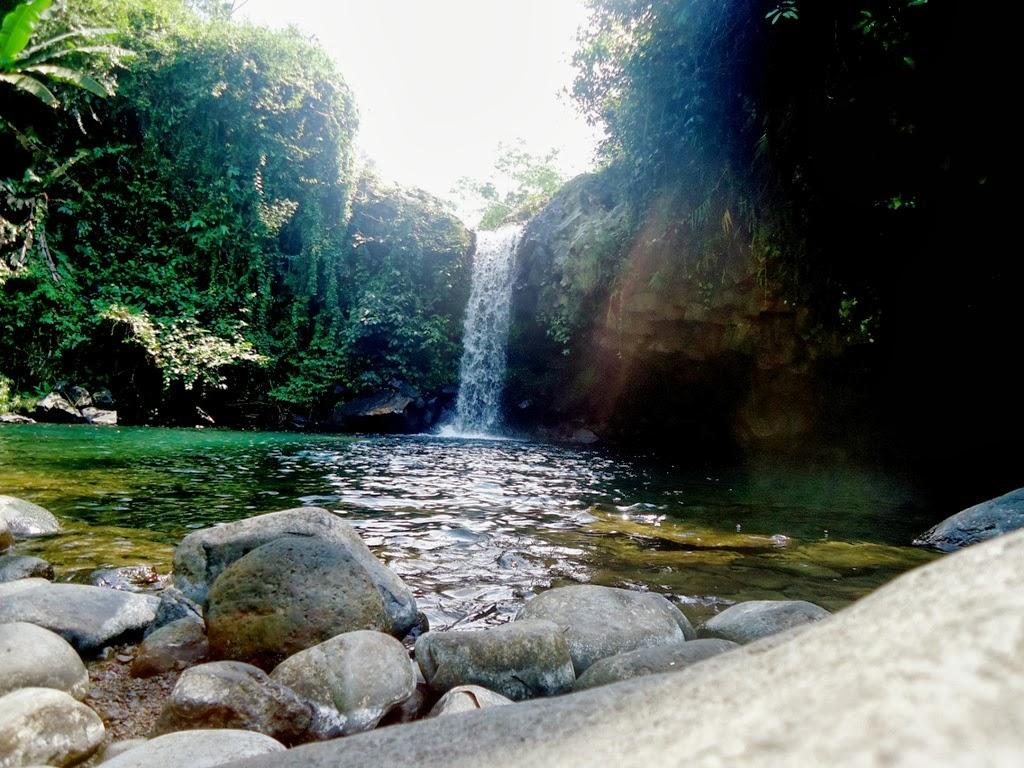 Curug Kembar Tersembunyi Banyumas Provinsi Jawa Tengah Mandala Wisata Baturraden