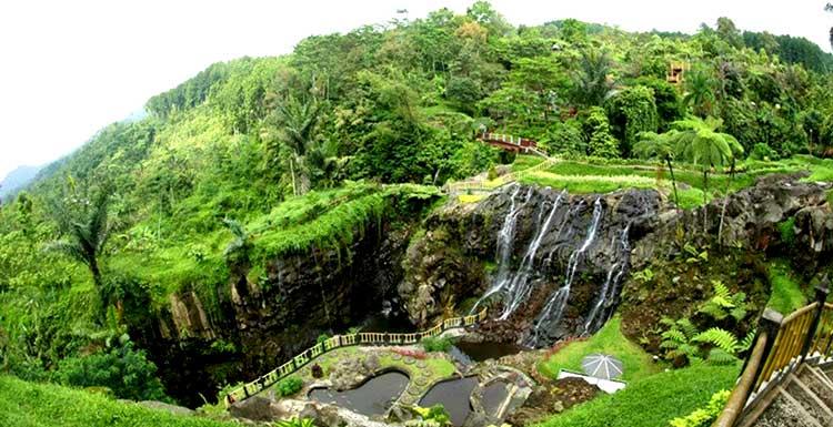 Harga Tiket Masuk Baturaden Terbaru Tempat Wisata Purwokerto Mandala Baturraden