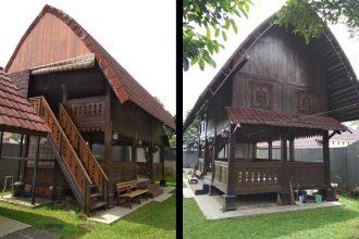 Mandala Wisata Baturaden Kabupaten Banyumas Jawa Tengah Nginepaja Gazebo Heritage