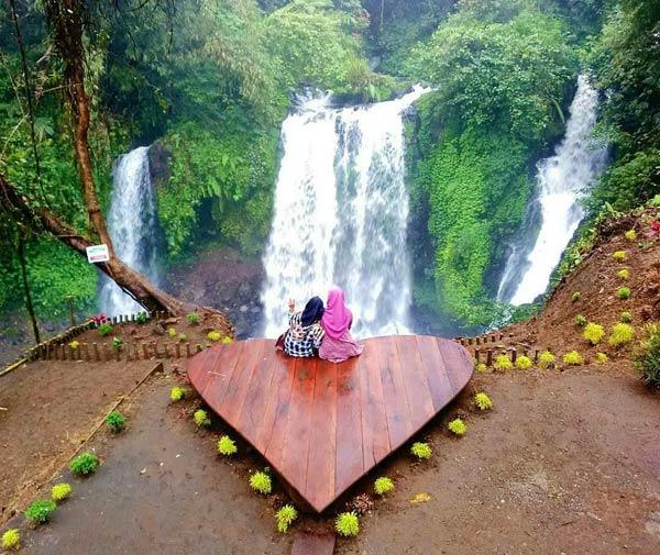 Obyek Wisata Curug Janggala Baturaden Jawa Tengah Karakteristik Objek Banyumas