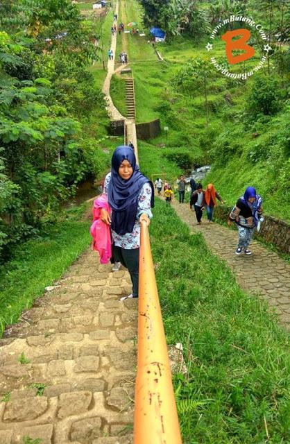 Selfie Curug Jenggala Kalipagu Baturaden Kabupaten Batang Mandala Wisata Baturraden