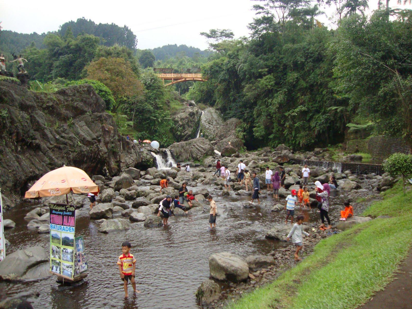 Wied Patikraja Pariwisata Banyumas Mandala Wisata Baturraden Kab
