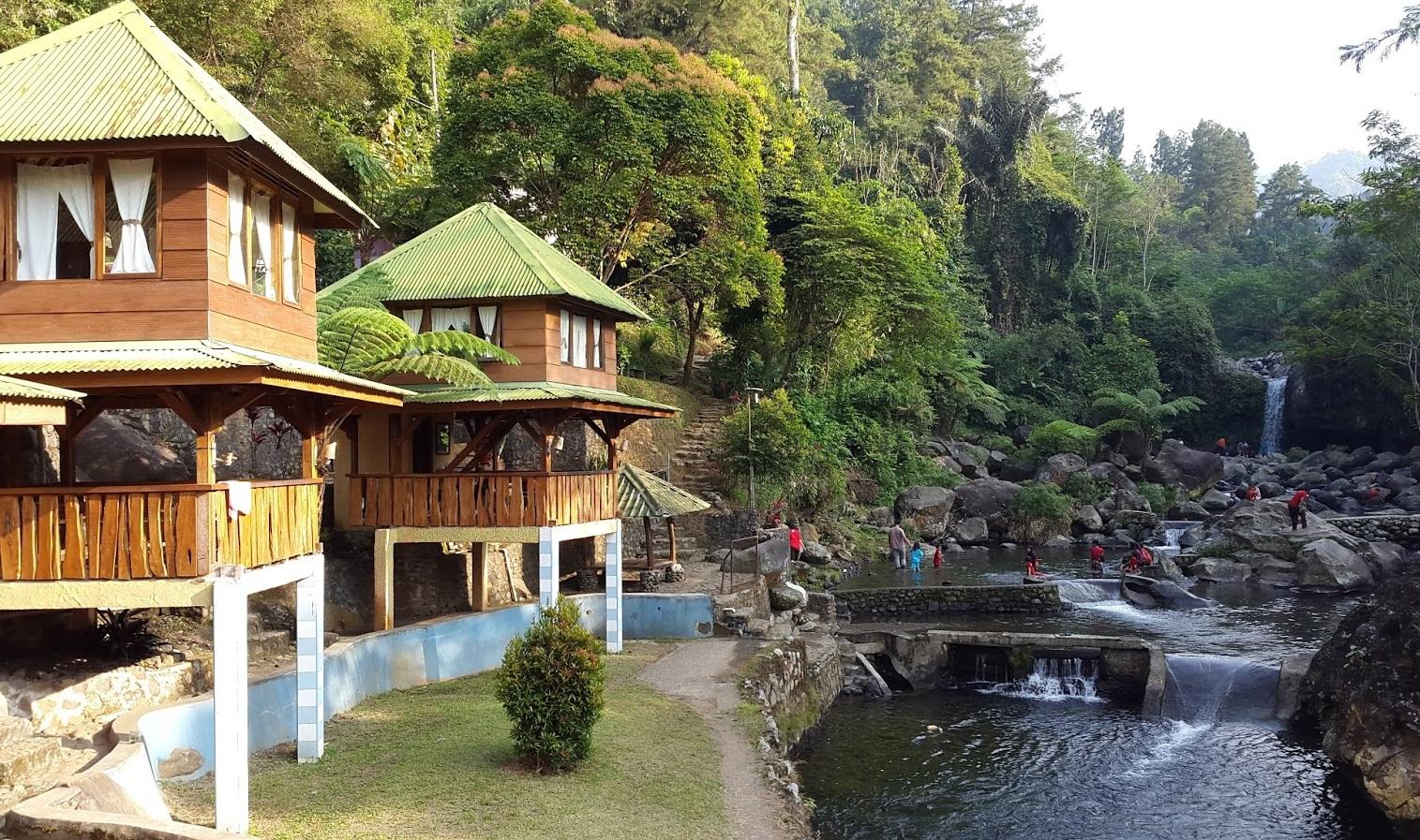 Wisata Curug Gede Desa Ketenger Baturaden Banyumas Mandala Baturraden Kab