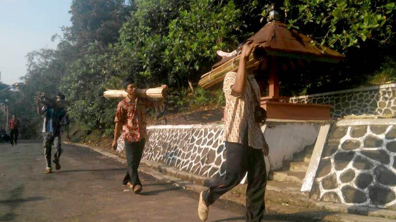 Berita Masjid Saka Tunggal Radar Banyumas Pagar Bambu Komplek Diganti