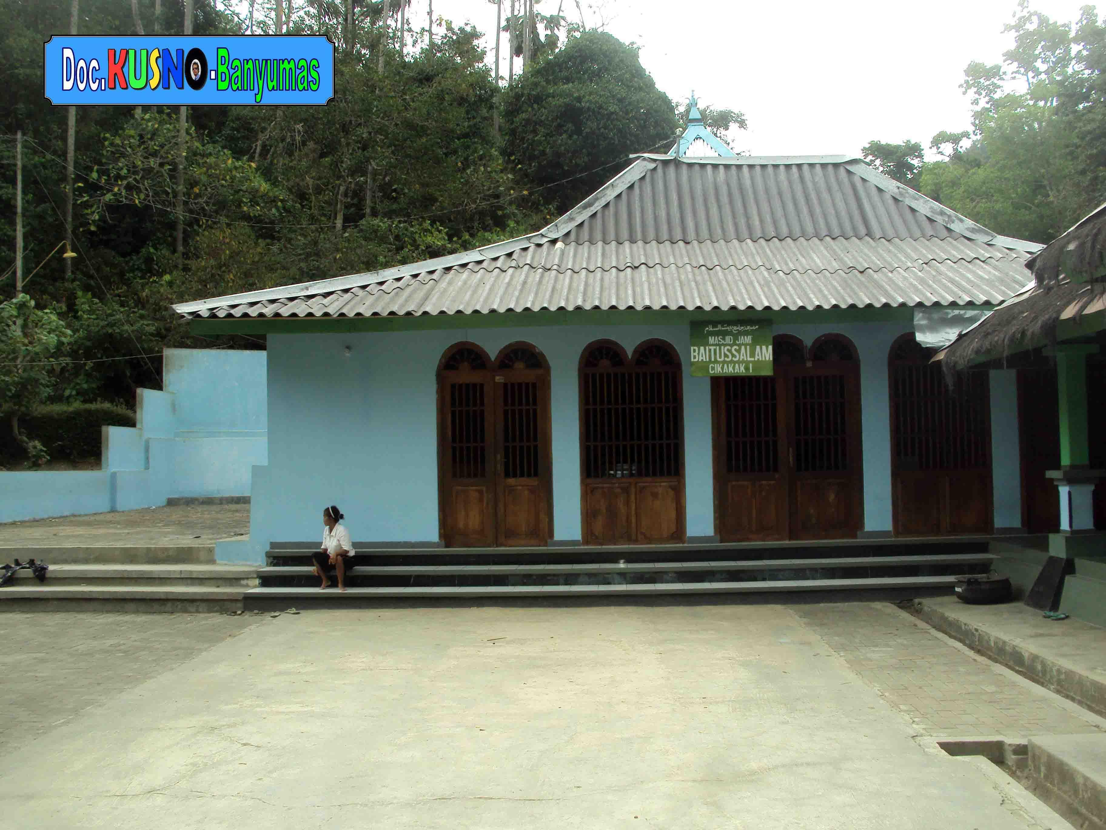 Masjid Saka Tunggal Cikakak Wangon Banyumas Maskusno Kab