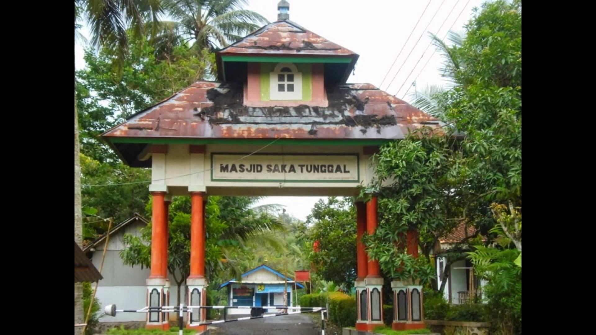 Masjid Saka Tunggal Jawa Tengah Tempat Wisata Indonesia Youtube Kab