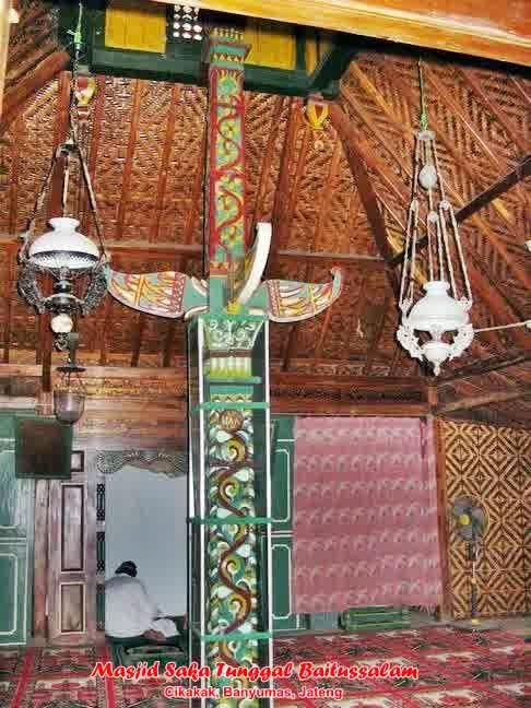 Saka Tunggal Masjid Tertua Indonesia Serbi Banyumas Http Seputarbarlingmascakeb Blogspot