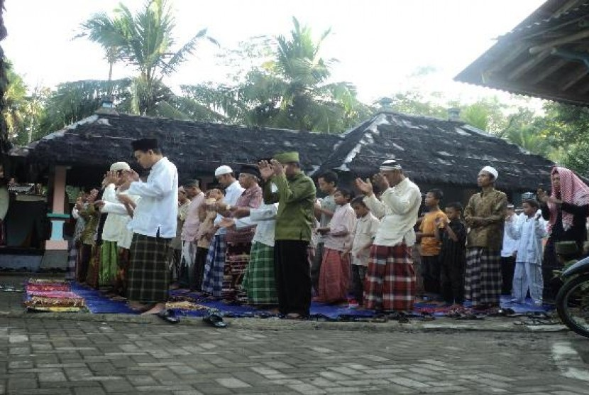 Sejarah Kiai Mustolih Masjid Saka Tunggal Republika Online Penganut Islam