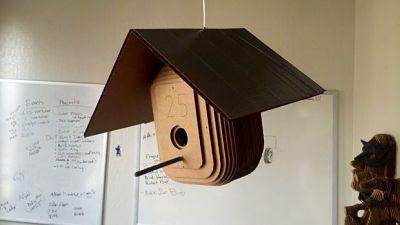 42 Membuat Kerajinan Tangan Kardus Menghasilkan Uang Miniatur Rumah Burung