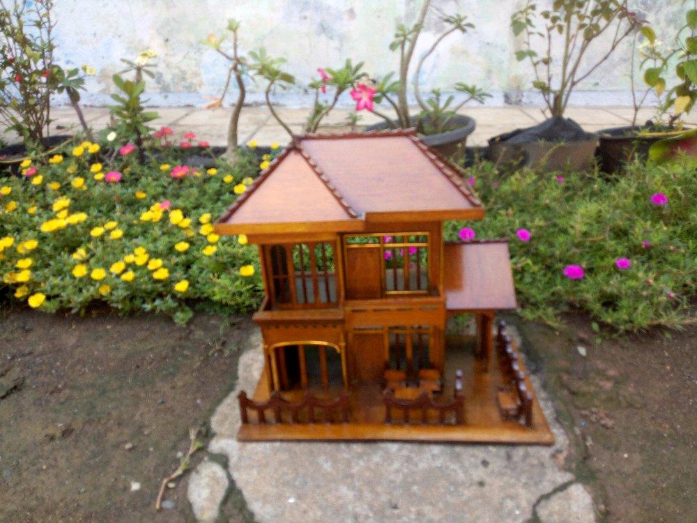 Jual Miniatur Rumah Kayu Ukuran Besar Lapak Antonio Gazelle Burung