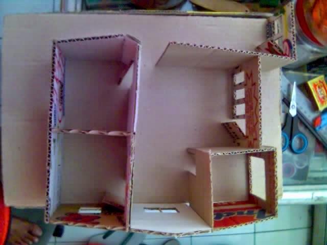 Kerajinan Tangan Membuat Miniatur Rumah Wisanggeni Jendela Pintu Burung Raksasa