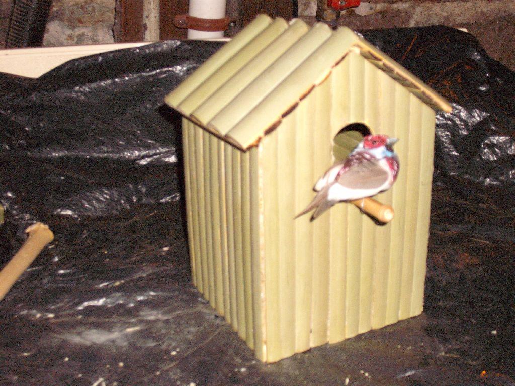 Mantaff 32 Ide Kreatif Kerajinan Tangan Bambu Rumah Burung Miniatur