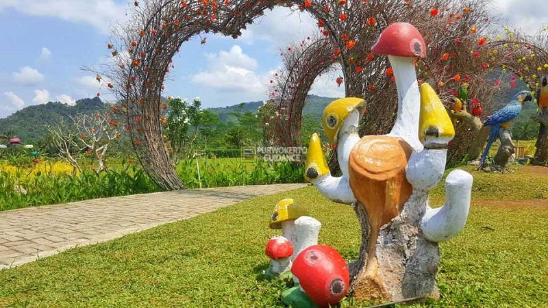 Taman Miniatur Dunia Small World Dinas Kebudayaan Pariwisata Rumah Burung