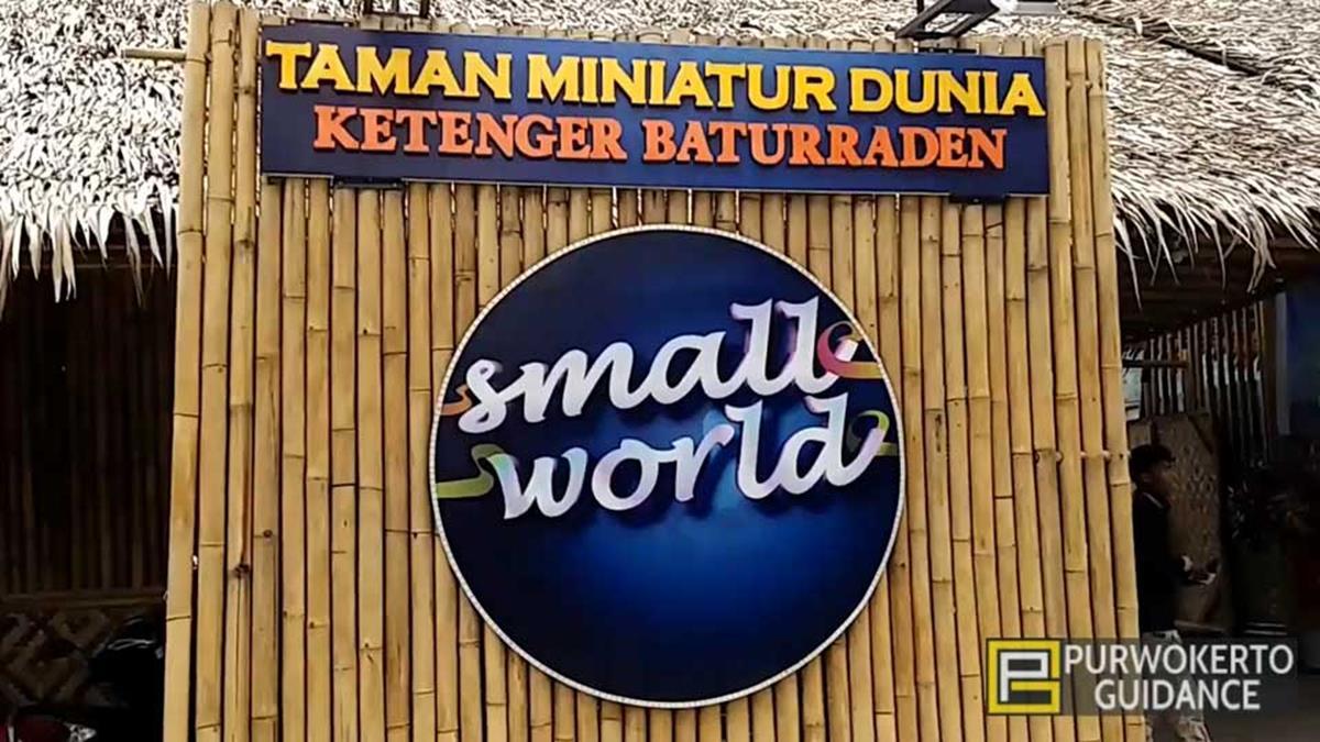 Wisata Banyumas Small World Miniatur Dunia Dibangun Desa Ketenger Kec