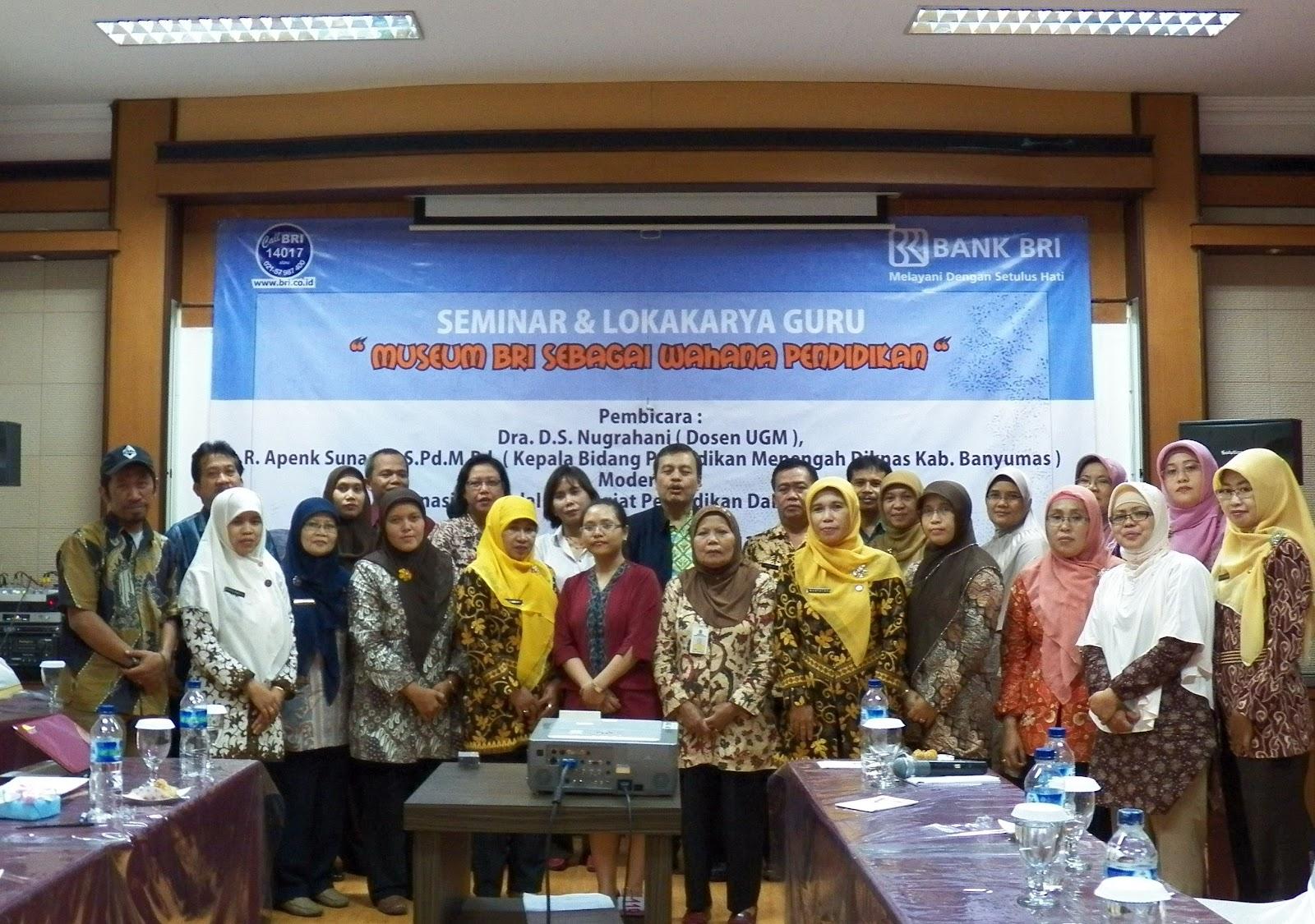 Museum Bank Rakyat Indonesia Bri Mei 2012 Kab Banyumas