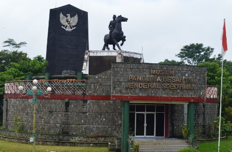 8 Peninggalan Sejarah Kabupaten Banyumas Gambarnya Monumen Museum Panglima Besar