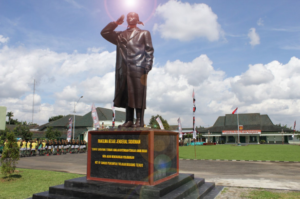 Monumen Museum Wisata Sejarah Purwokerto Suci Rahayu Panglima Besar Jenderal
