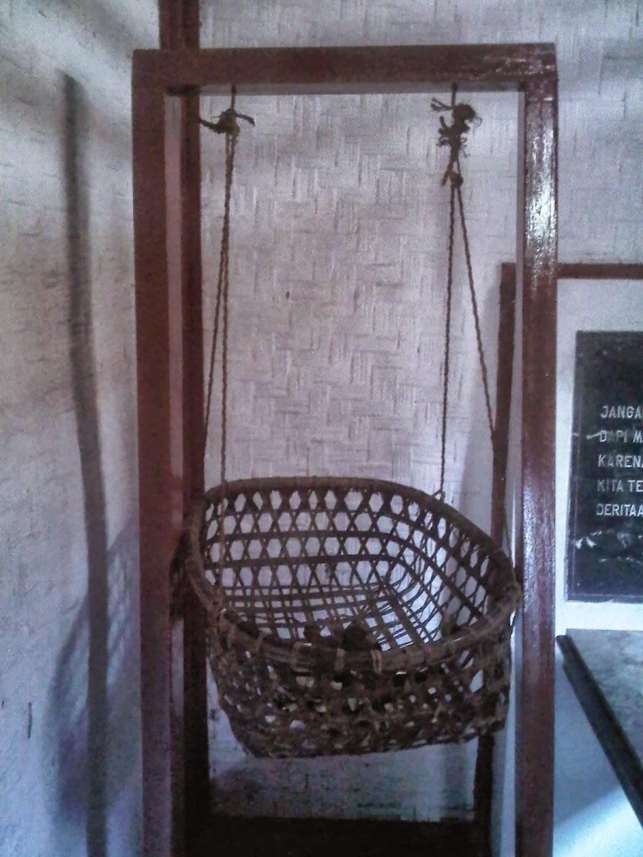 Museum Jenderal Soedirman Purbalingga Indonesia Ayunan Panglima Besar Jendral Sudirman