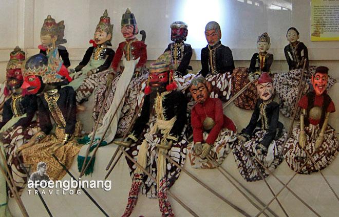 Aroengbinang Museum Wayang Banyumas Sendhang Mas Kab
