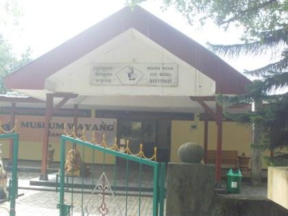 Museum Wayang Sendang Mas Tafridefreez Blog Letaknya Kota Banyumas Sebelah