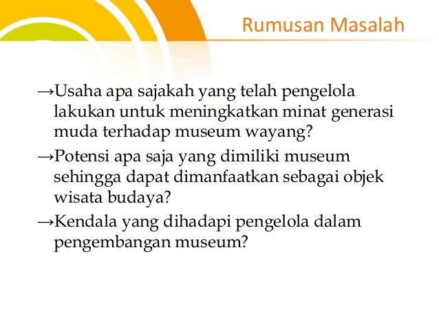 Peran Museum Wayang Banyumas Meningkatkan Kecintaan Generasi 4 Sendhang Mas