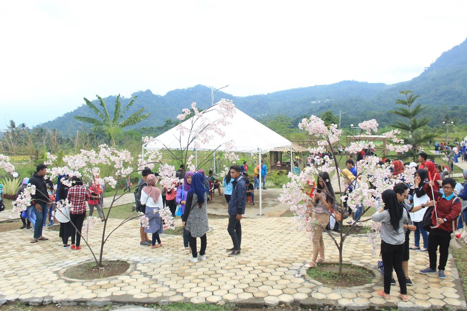 Taman Miniatur Dunia Small World Desa Ketenger Baturaden Masuk Kalian