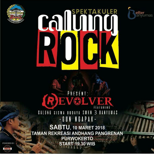 Akhir Pekan Seniman Banyumas Bakal Sajikan Kolaborasi Calung Rock Purwokerto