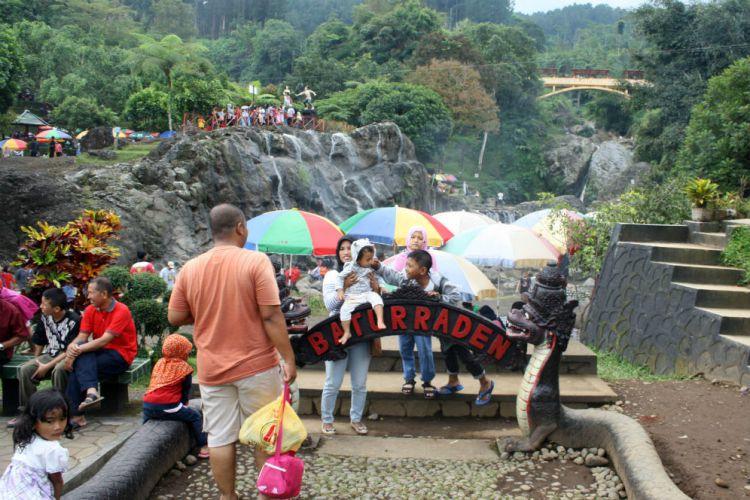 Jawa Tengah Merdeka 1000 Air Mancur Bakal Percantik Baturraden Taman