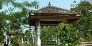 Jawa Tengah Merdeka Asyik Fasilitas Taman Satria Purwokerto Konsep Penataan