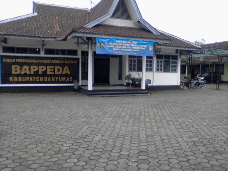 Kantor Bappeda Kabupaten Banyumas Banyumasorg Alamat Badan Perencanaan Pembangunan Daerah