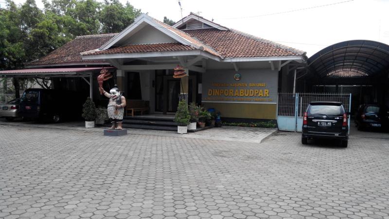 Kantor Dinporabudpar Banyumas Banyumasorg Dinas Pemuda Olahraga Kebudayaan Pariwisata Kabupaten