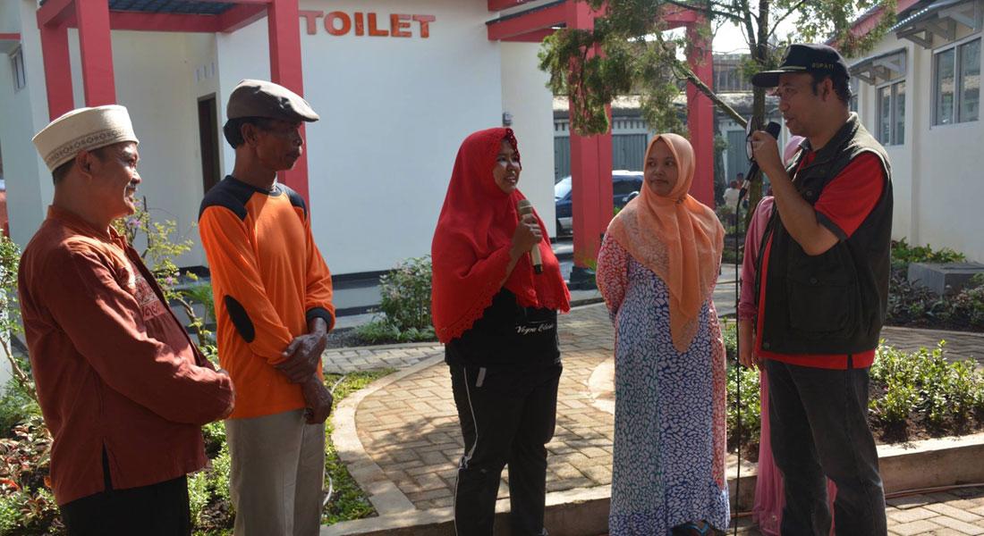 Shelter Toilet Taman Satria Purwokerto Diresmikan Bupati Banyumas Kab