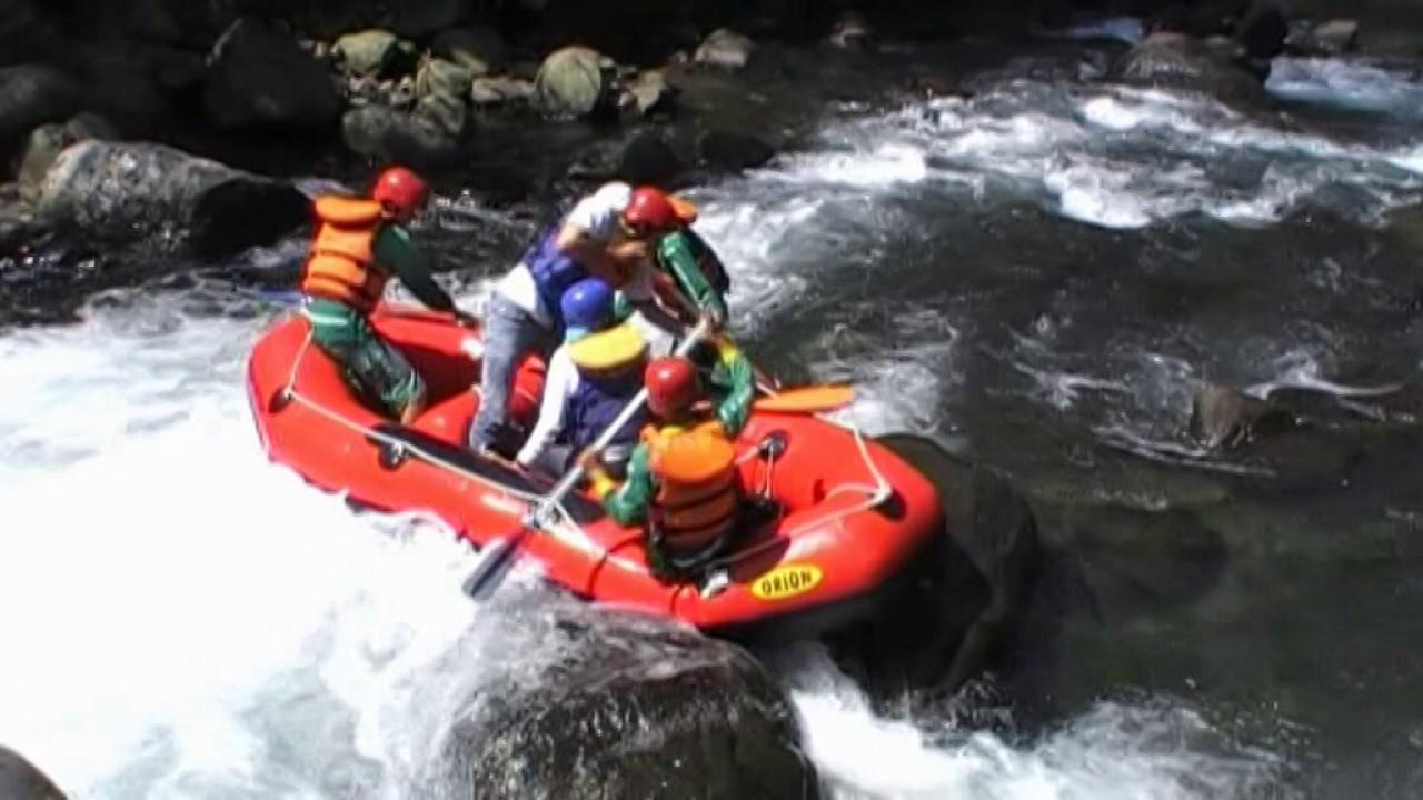 Arung Jeram Batur Agung Terasering Wisata Alam Youtube Kab Banyumas