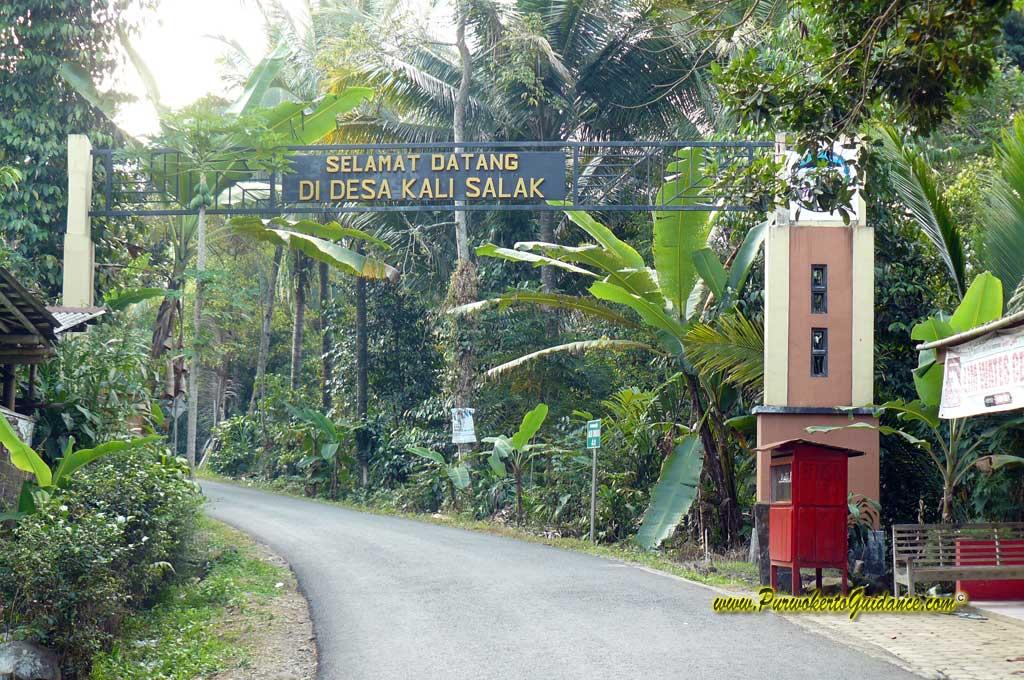 Batur Agung Waterpark Laman 2 Purwokerto Guidance Gapura Kawasan Wisata