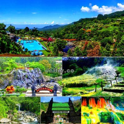 Daftar Tempat Wisata Banyumas Jawa Tengah Objek Alam Baturraden Batur
