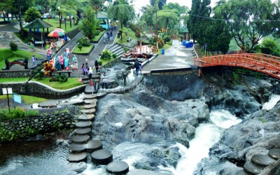Destinasi Wisata Banyumas Lokawisata Baturraden Batur Agung Kab