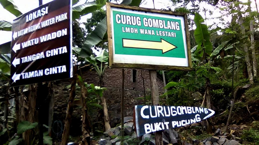 Jalan Curug Gomblang Desa Baseh Kecamatan Kedung Banteng Setelah Sampai