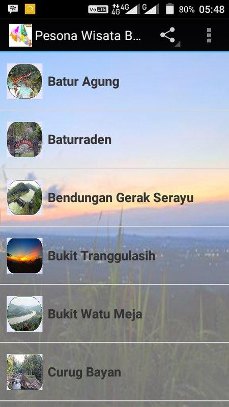 Pesona Wisata Banyumas Apk Download Gratis Hiburan Apl Poster Batur