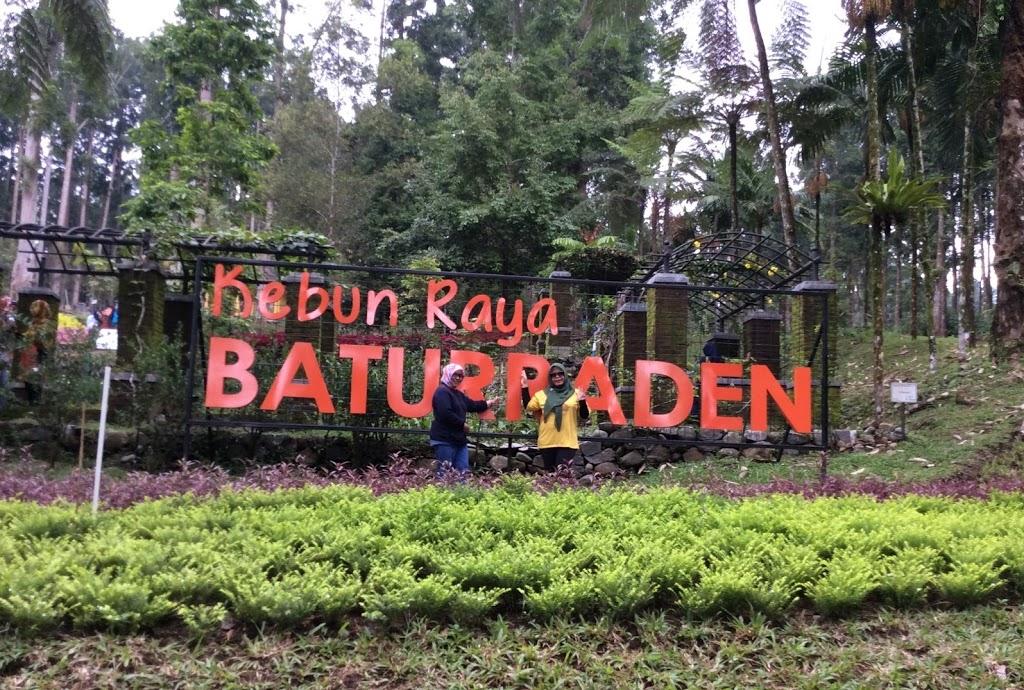Wisata Alam Kesejukan Lereng Gunung Selamet Kebun Raya Baturaden 2017