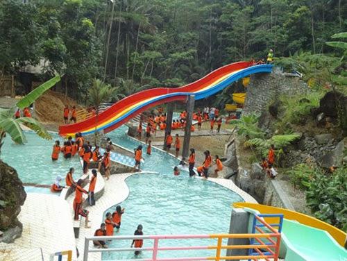 Wisata Waterpark Batur Agung Purwokerto Banyumas Salah Satu Tempat Kabupaten