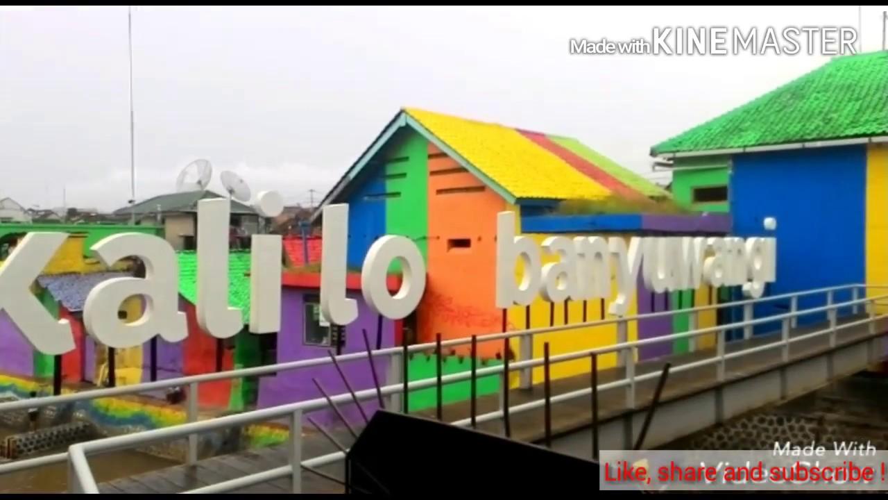 Jembatan Kalilo Banyuwangi Terkini Kampung Warna Warni Youtube Selfie Kab