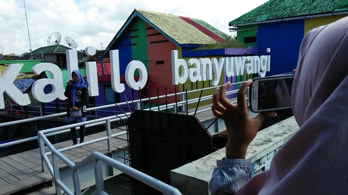 Kalilo Bersih Spot Selfie Ala Banyuwangi Surya Jembatan Kab