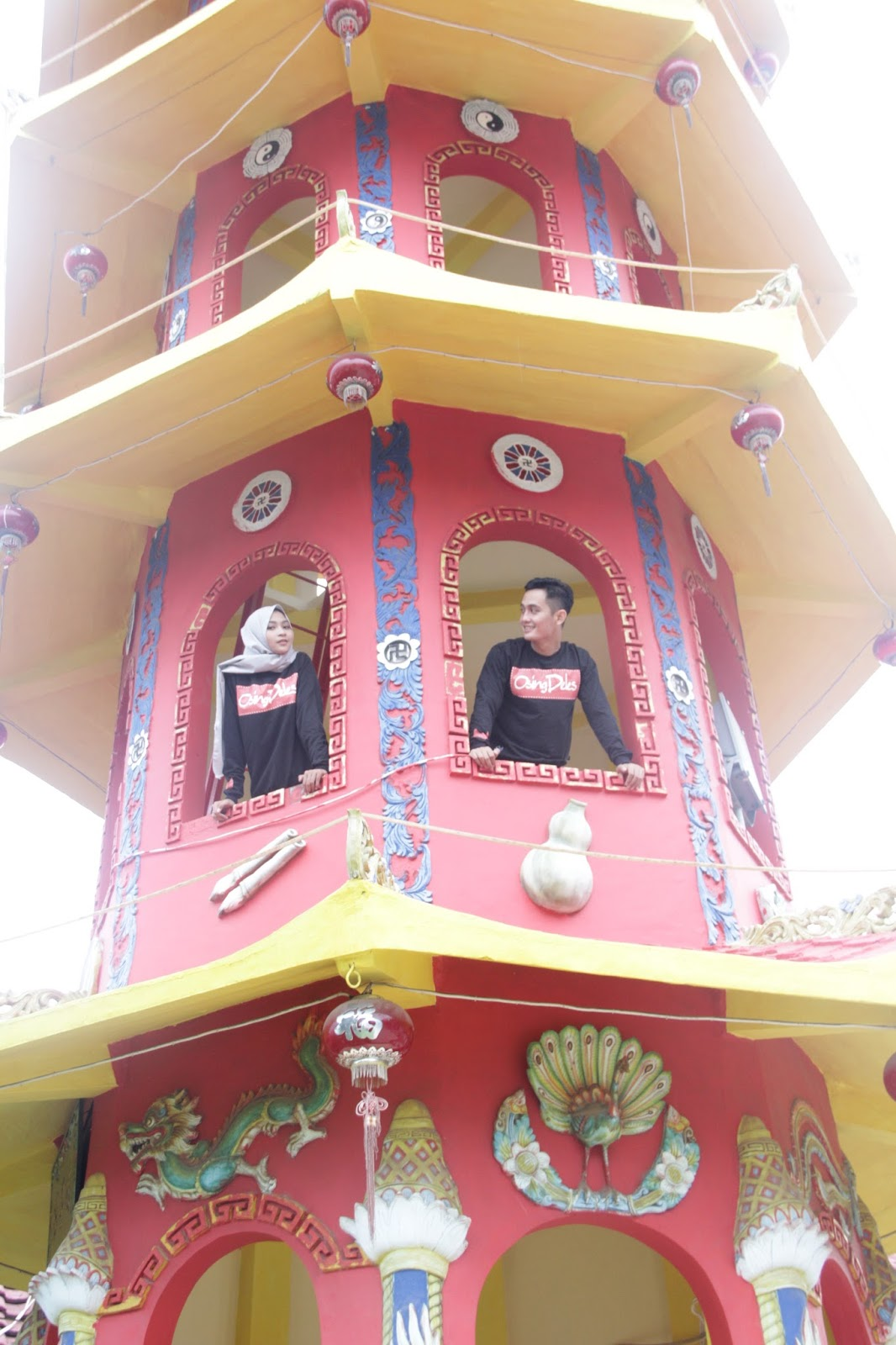 Hoo Tong Bio Klenteng Jantung Kota Banyuwangi Kaos Khas Kab